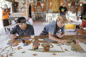 ubud-day- tour-art-painting-batuan-village