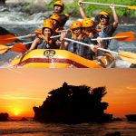 bali rafting amazing sunset tour