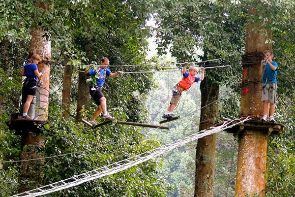 bali Tree top Adventure Rukmana balitour